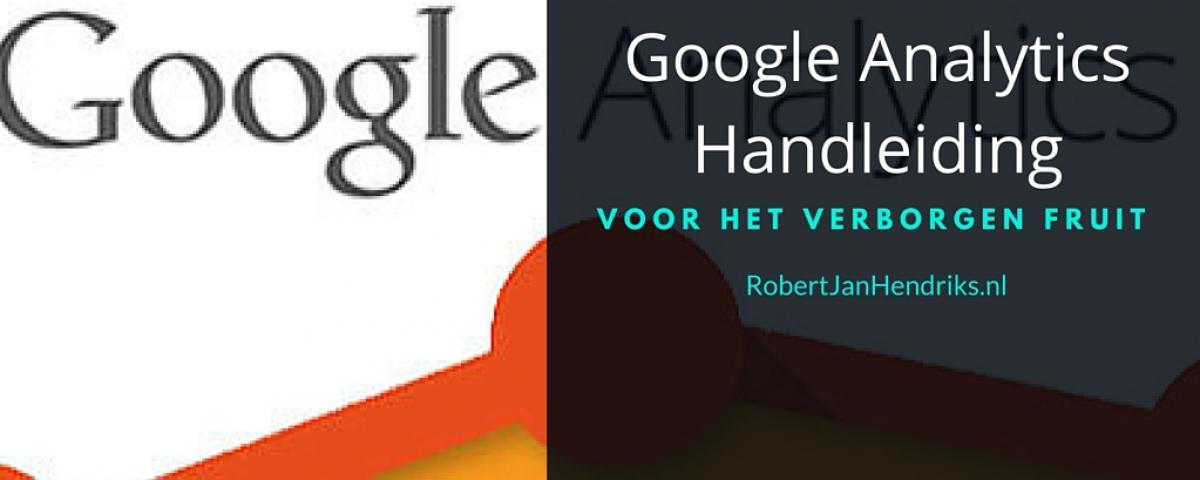 google analytics handleiding