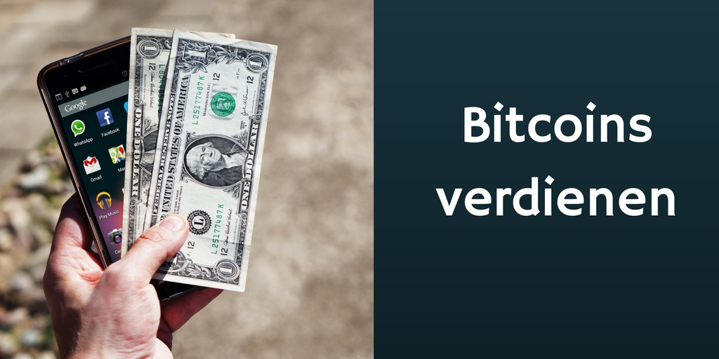 Bitcoins vedienen