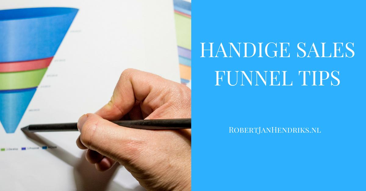5 stappen naar een effectieve sales funnel