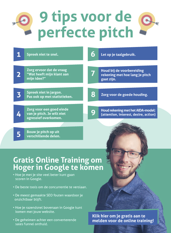 perfecte pitch tips