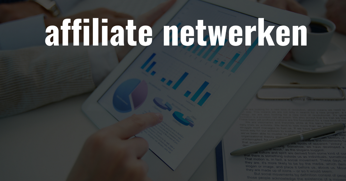 affiliate netwerken